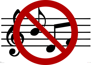 No Use of Music