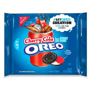 Oreo Cherry Cola Chocolate Sandwich CookiesCR: Nabisco